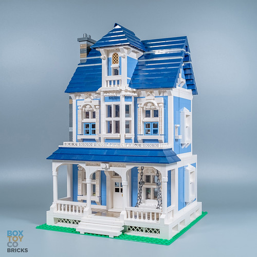Moc Victorian House Modular Lego Town Eurobricks Forums