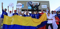 Colombianos en el Rally Dakar 2016