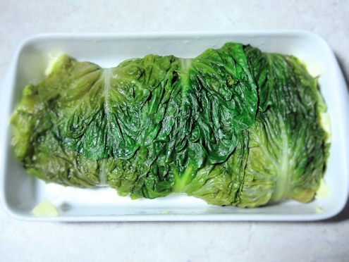 lettuce wrapped salmon