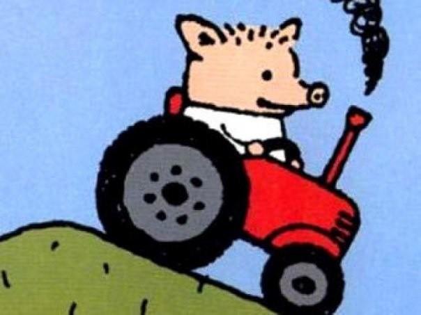 Копирайт против тракториста