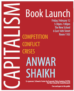 Capitalism Book Launch Poster