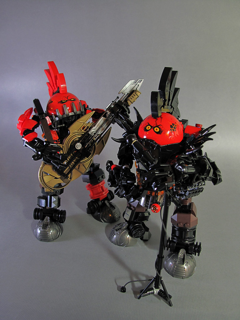 LEGO Punk Beast Band - James Zhan
