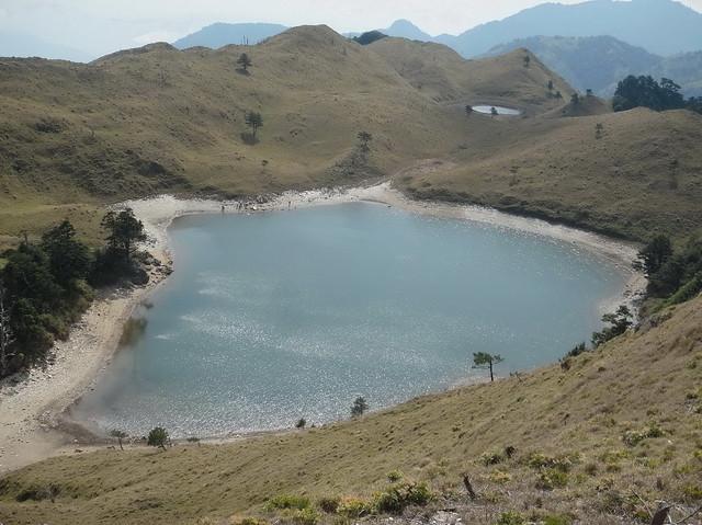 丹大林道、七彩湖深具旅遊魅力,南投林管處將以輔導部落族人發展生態旅遊,開啟共管第一步。圖片來源:南投林管處