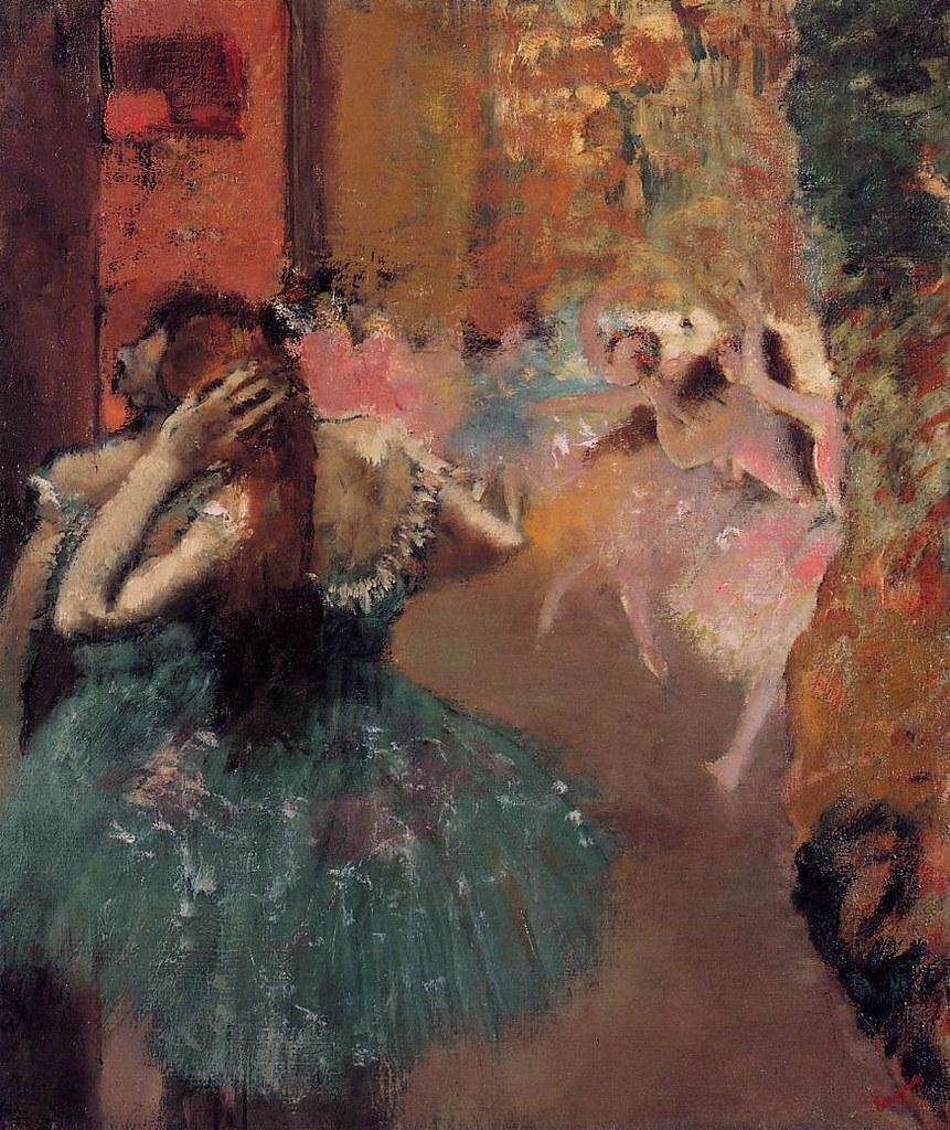 Ballet Scene by Edgar Degas, 1893