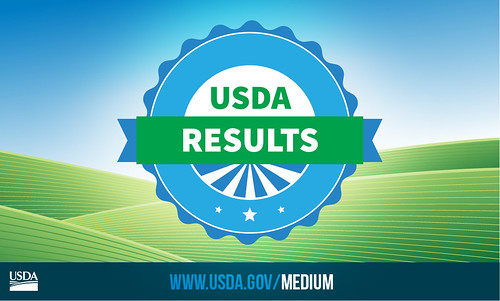 USDA Results tile