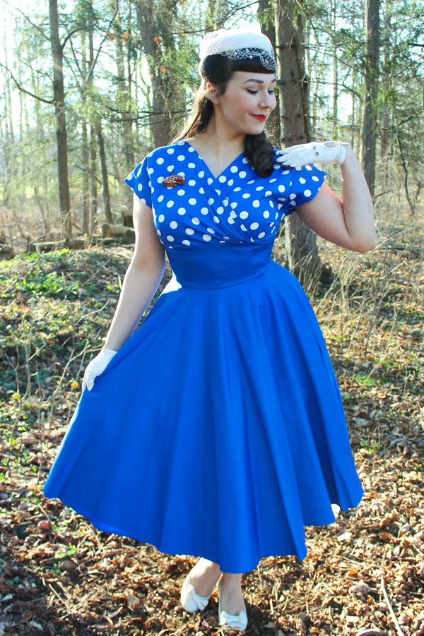 vivien of holloway polka dot grace dress