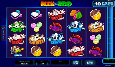 Peek-a-Boo 5 Reels slot game online review