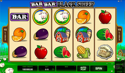 Bar Bar Black Sheep 5 Reel slot game online review