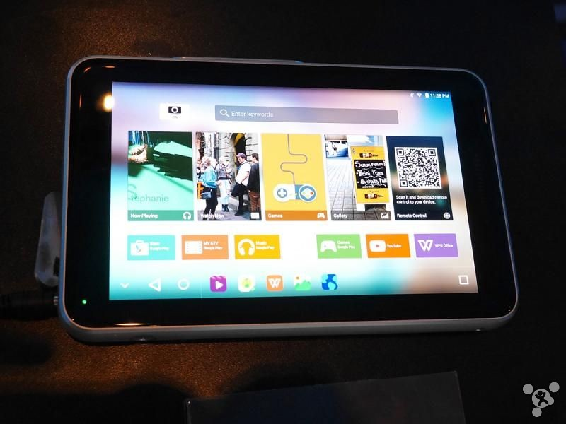 Writing projector reads released Tablet ZTE SPro Plus