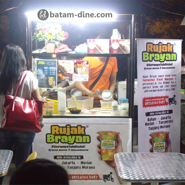 Booth of Rujak Brayan