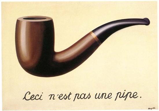 르네 마그리뜨 - 이것은 파이프가 아니다