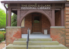 Emma S Clark Memorial Library Door