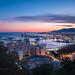 City Lights - Malaga, Spain