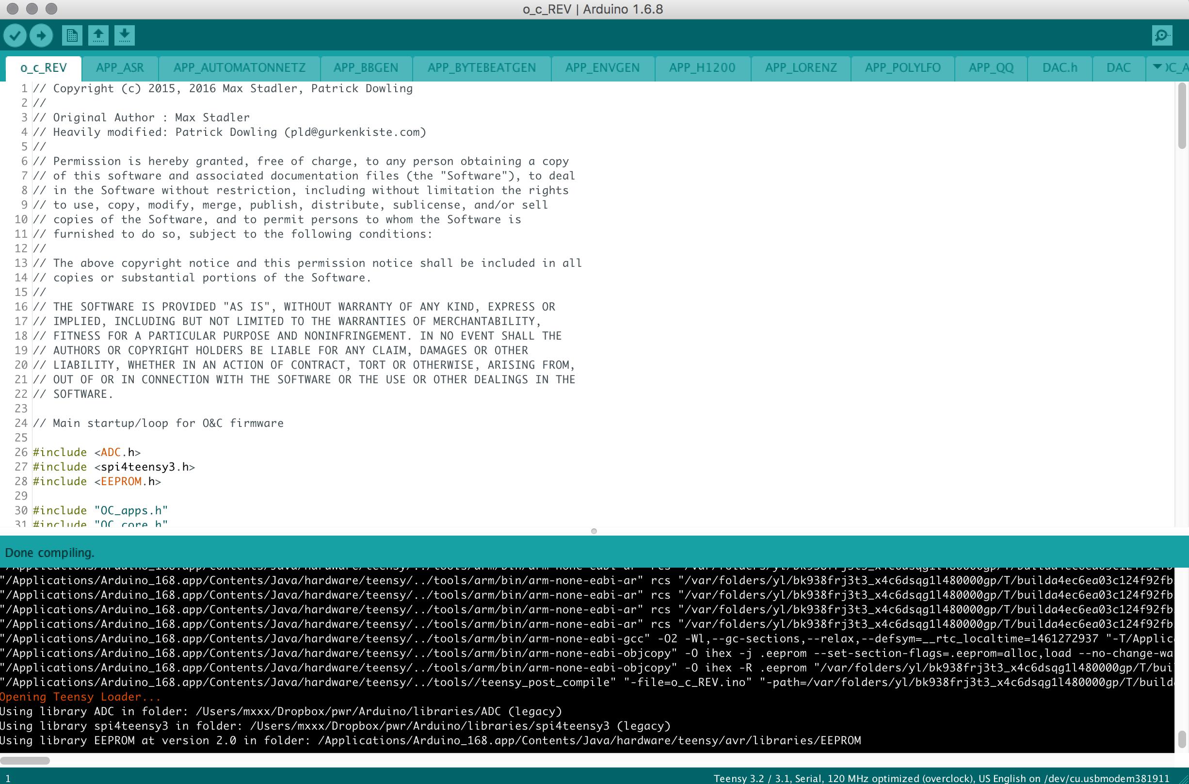 Arduino IDE