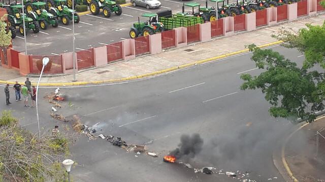 Puerto Ordaz: Protestan por falta de agua en varios sectores de la ciudad