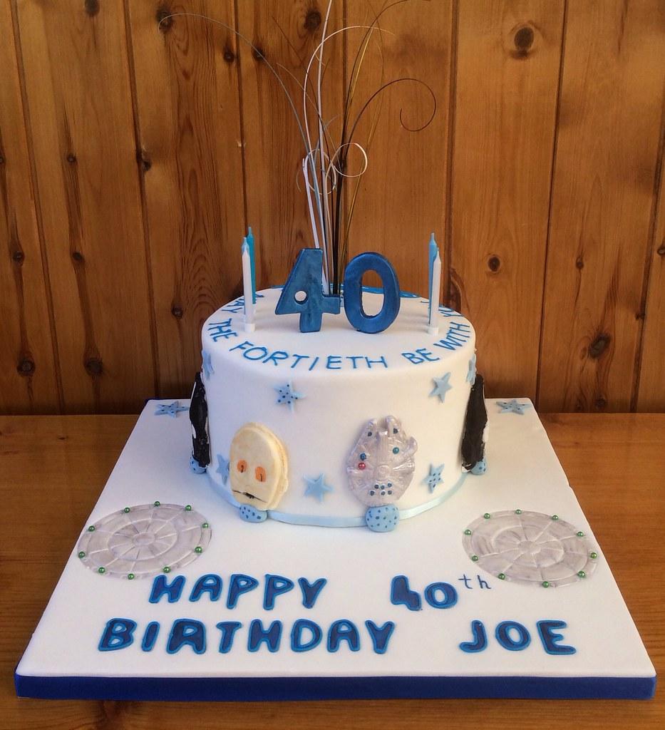 A 40th Birthday Cake For Joe …