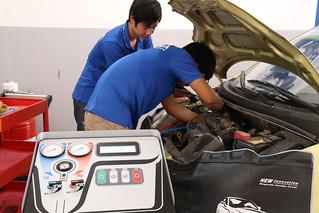 Sửa chữa - Bảo dưỡng điều hòa ô tô
