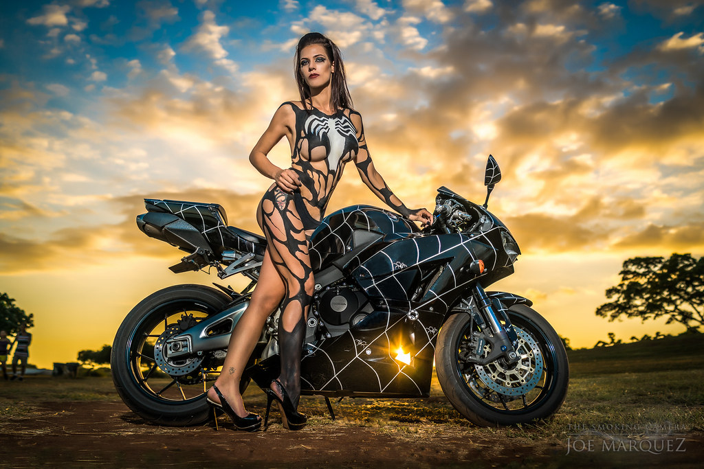 Question motorcycle body painting