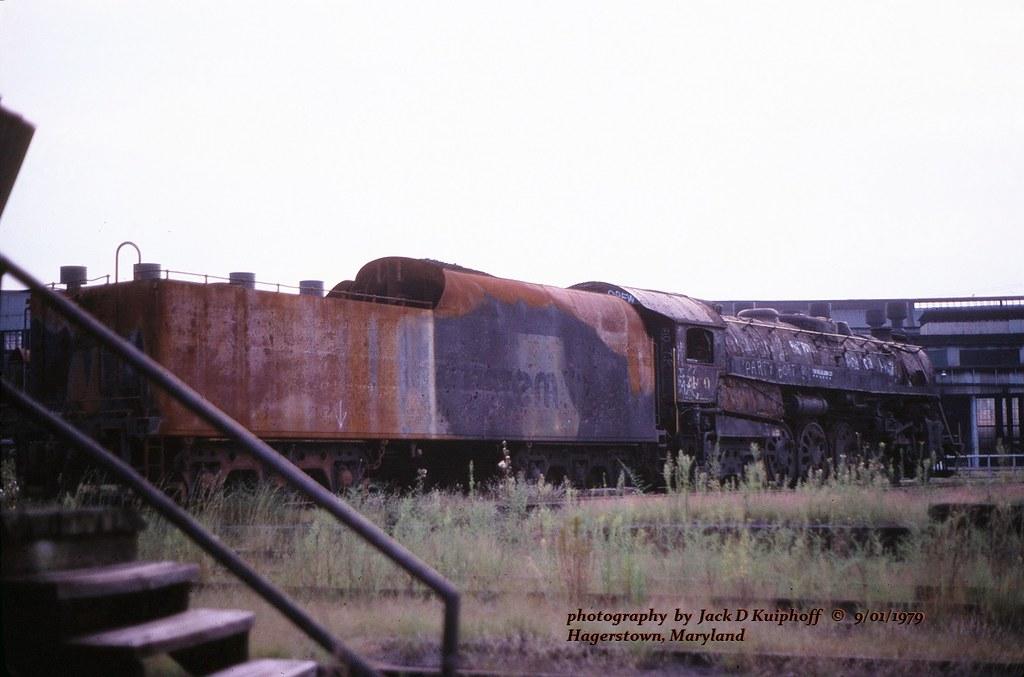 Css 2100 Hagerstown Md 9 01 1979 Css Chessie Steam