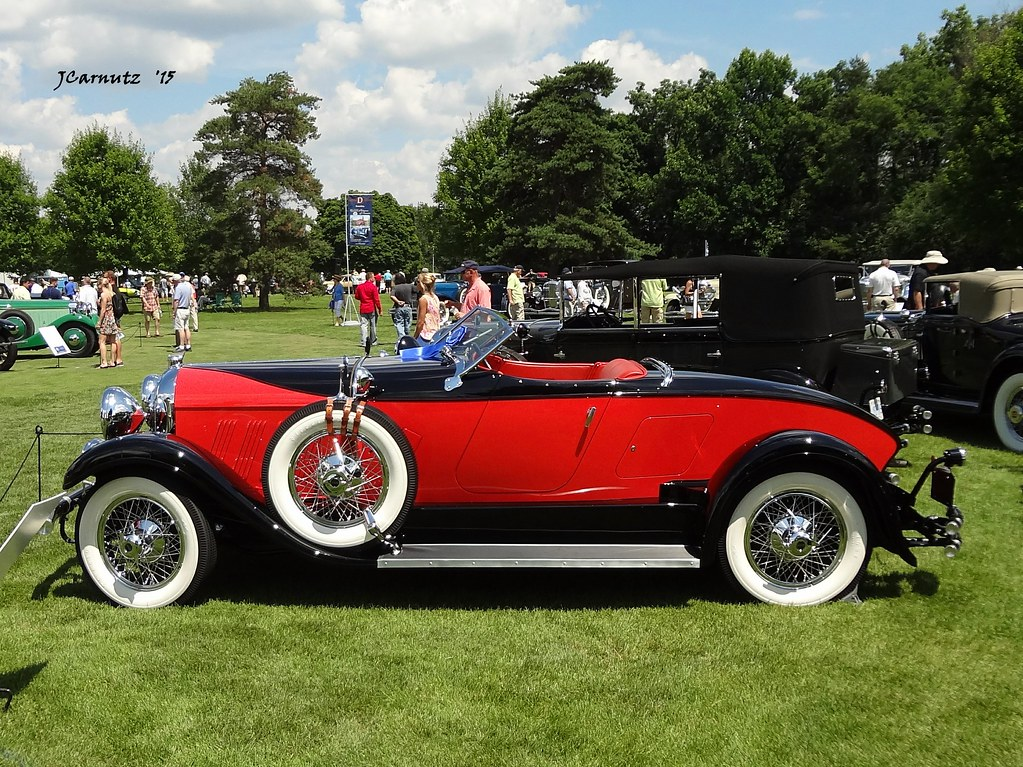 1928 Auburn 8 88 Speedster The Concours D Elegance Of