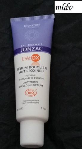 avis sérum bouclier anti-toxines eau thermale jonzac