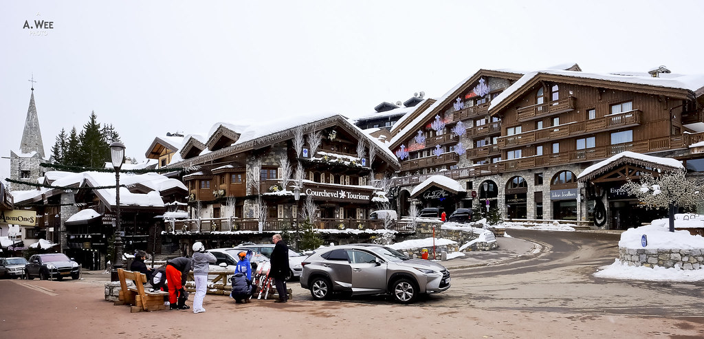 Ski Village of Courchevel