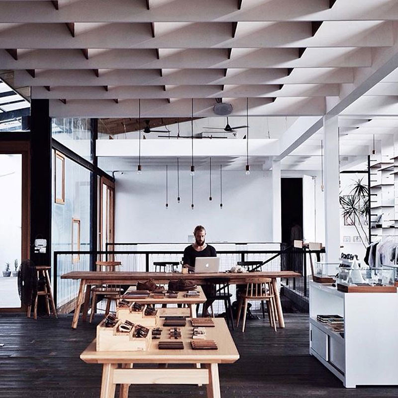 18 best work friendly cafes in bali with great wi fi and for Buro shop concept