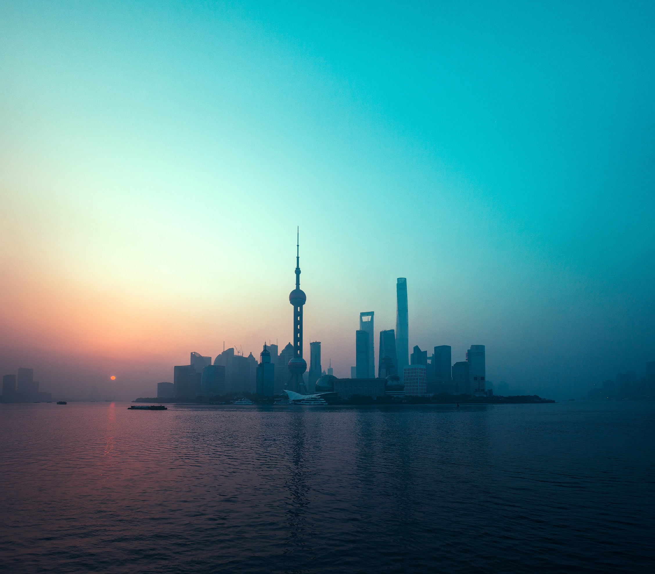 Early morning in shanghai 2256x1976 wallpapers - Shanghai skyline wallpaper ...