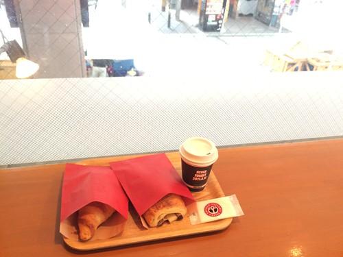 フルセイルコーヒー 仙台2日目の朝 2016.3.9