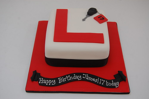 L Plate Cake Beautiful Birthday Cakes