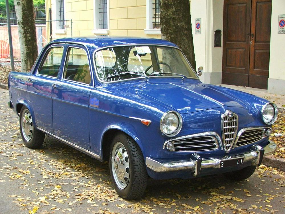 Alfa Romeo Giulietta TI - 1960