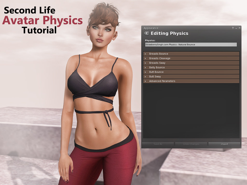 Second Life Avatar Physics Tutorial | I've done a video tuto ...: https://www.flickr.com/photos/strawberrysingh/25756042330