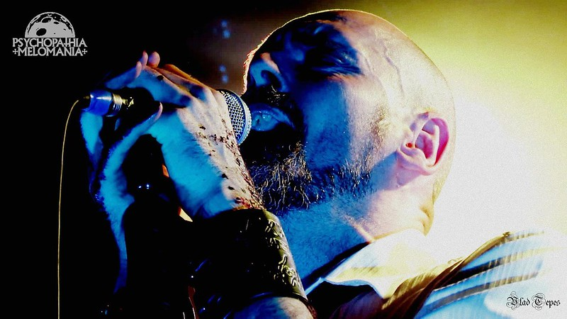 Aaron Stainthorpe @My Dying Bride, Nouveau Casino, Paris 06/04/2016