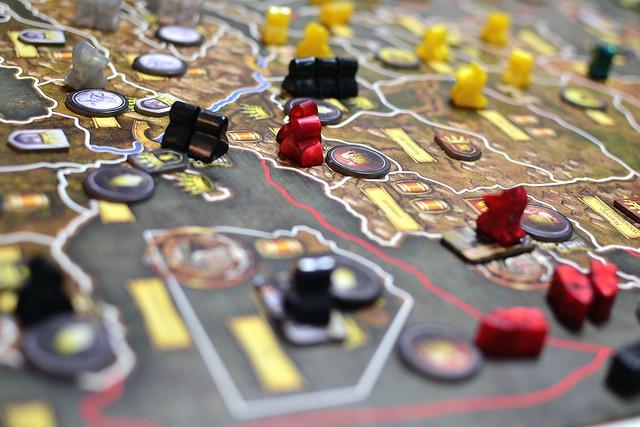 juego estrategia de mesa. dinámica de grupo, gestión