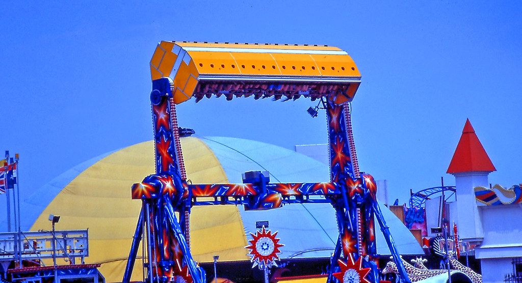 Carnival Ride Seaside Heights Nj 1995 I Took This