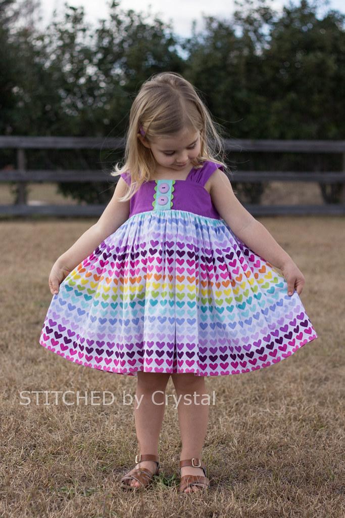 STITCHED by Crystal: Valentine Dress