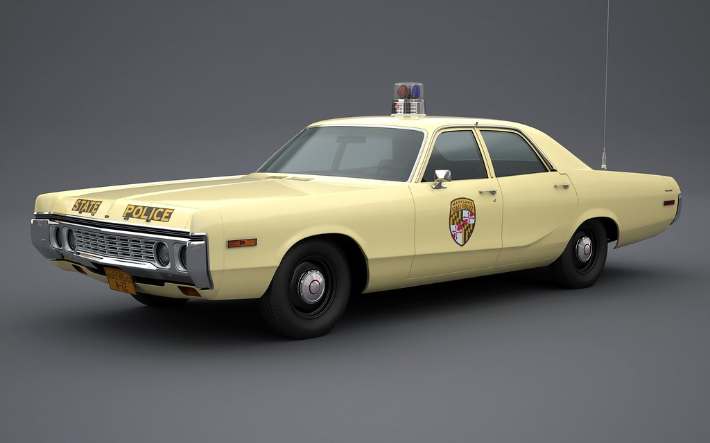 All Model Car >> 1972 Dodge Polara Maryland State Police | Roof hardware: Fed… | Flickr