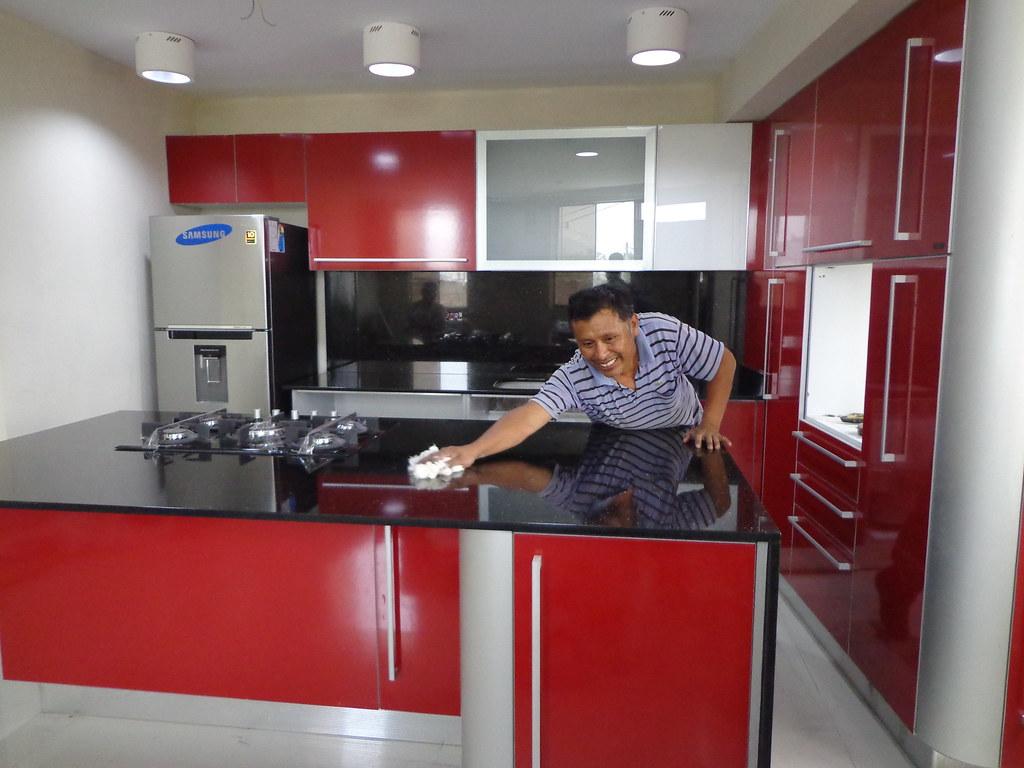 Encimera cocina granito negro galaxy tableros de cocina for Cocinas en 3d gratis