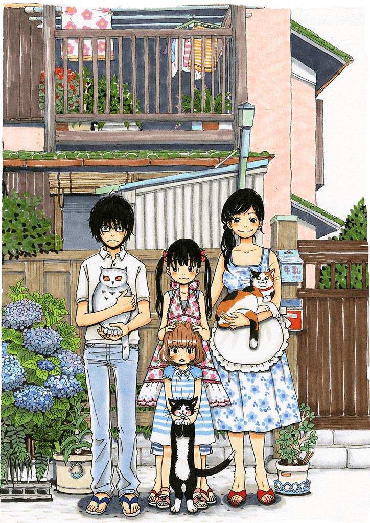 160107(2) - 羽海野千花代表作《3月的獅子》促成「新房昭之×SHAFT」改編為NHK長篇動畫、於秋天放送!