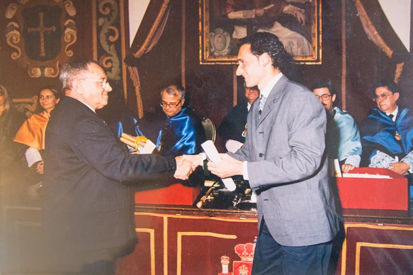 Diploma para Juan Puerta Valiente. Foto 081.