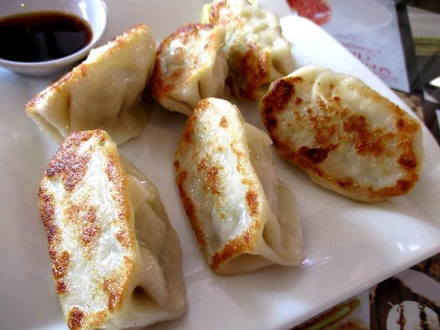 Noodle House meat dumplings