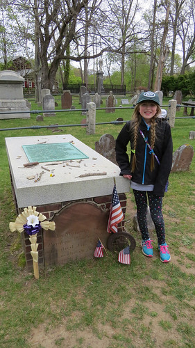 Grave of Abraham Woodhull