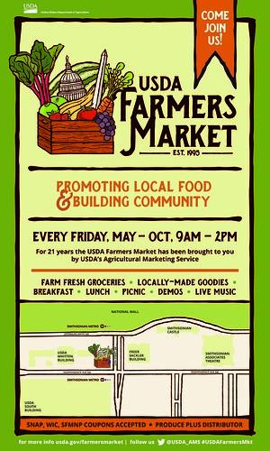 USDA Farmers Market poster