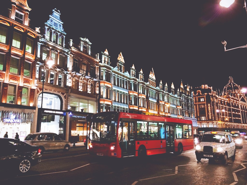 Harrods by Night, London | via It's Travel O'Clock
