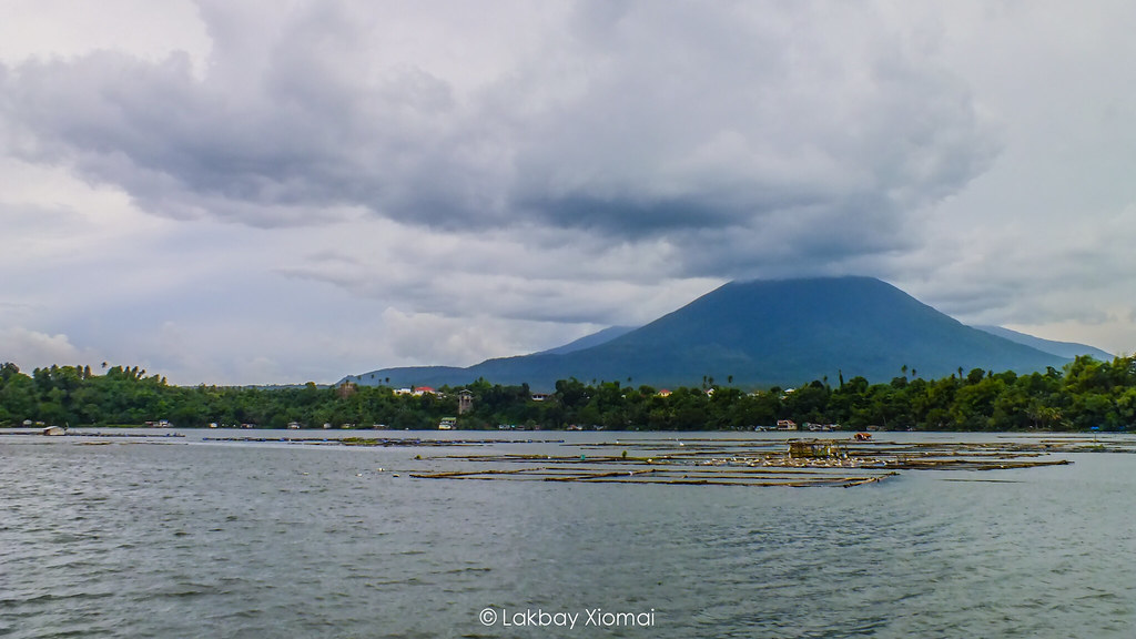 Lakbay Xiomai | San Pablo, Laguna - Seven Lakes, Sampaloc Lake - View of Mt Makiling