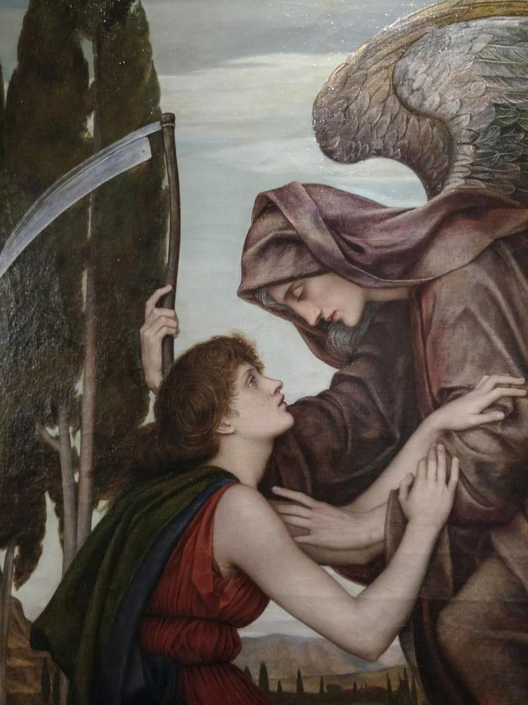 Detail - The Angel of Death, Evelyn De Morgan, 1880 | Flickr