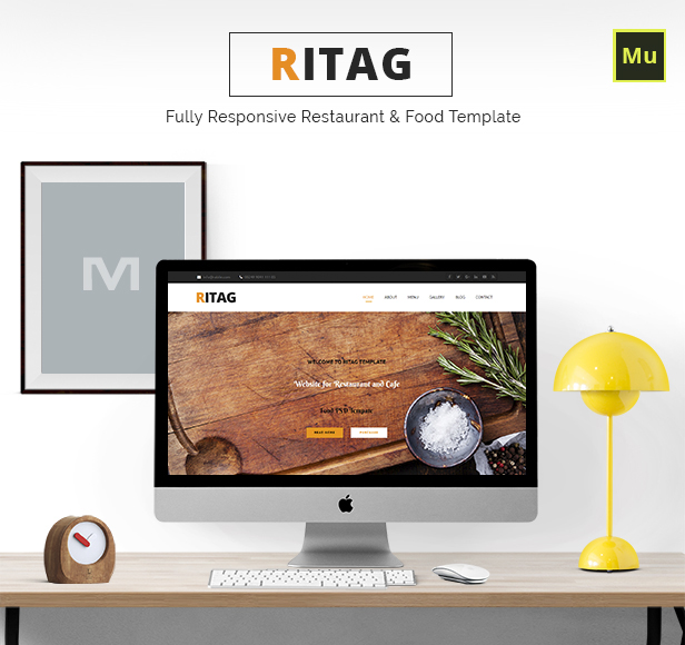 Ritag - Responsive Food & Restaurant Template