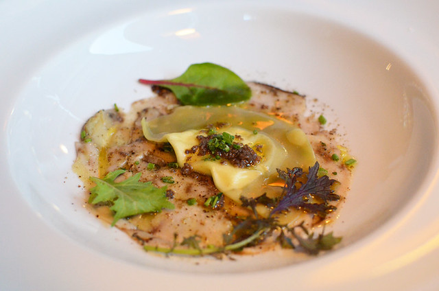 Ravioli, truffles,Taster menu, Lucas Maes, Tenerife