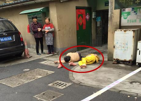 Hangzhou, a woman jumped from the 6/f, collected via Uncle die hand injuries