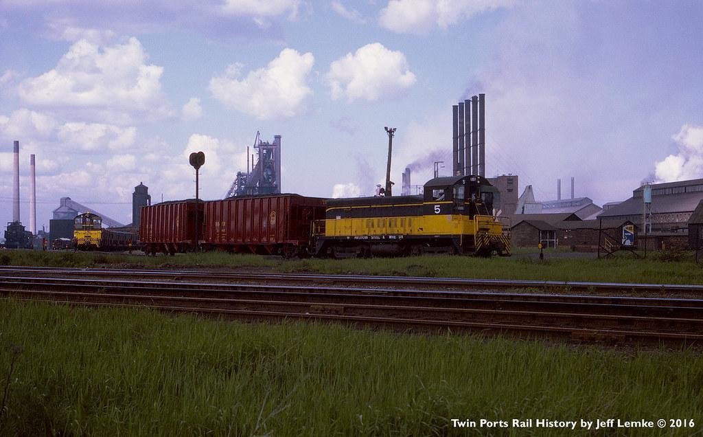 American Steel Amp Wire Locomotive 5 Us Steel Duluth Works